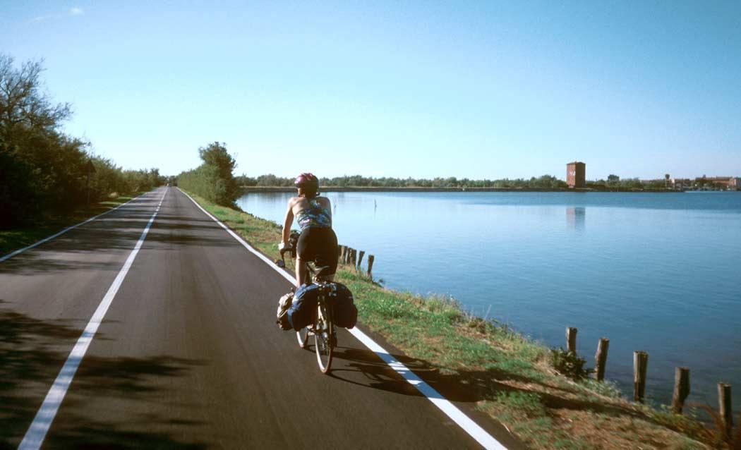 viaje bicicleta