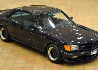 """Una subasta """"principesca"""" 1983_Mercedes-Benz_500_SEC_AMG_01-650x365"""