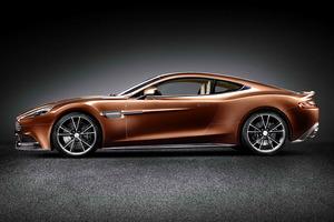 Maravillosa la silueta del nuevo Aston Martin Vanquish