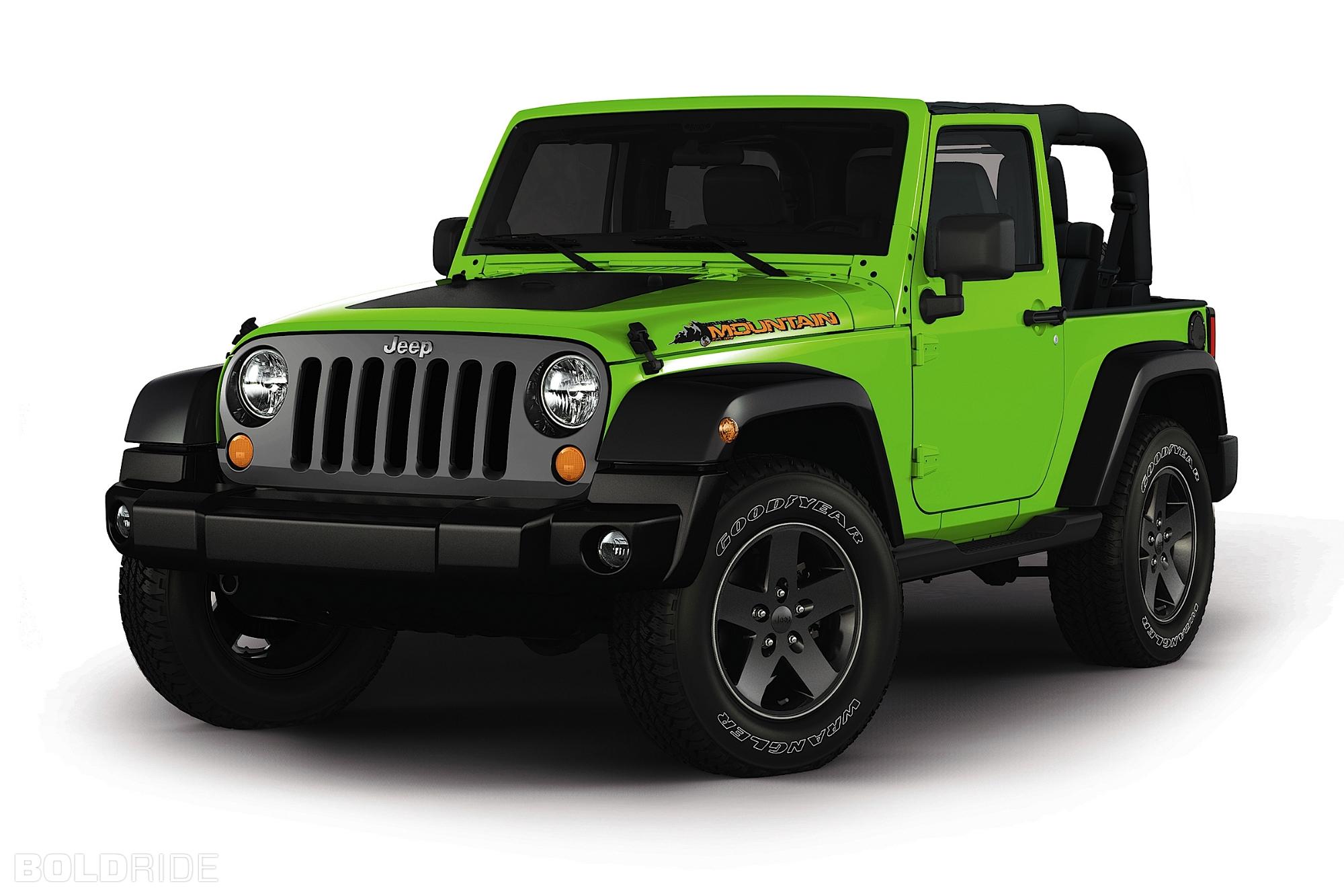 Jeep Wrangler Mountain Para Quot Echarse Quot Al Monte