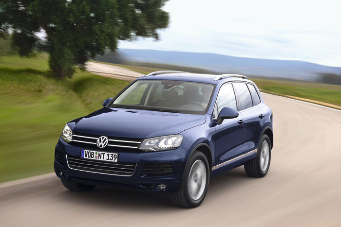 VW Touareg Unlimited 1