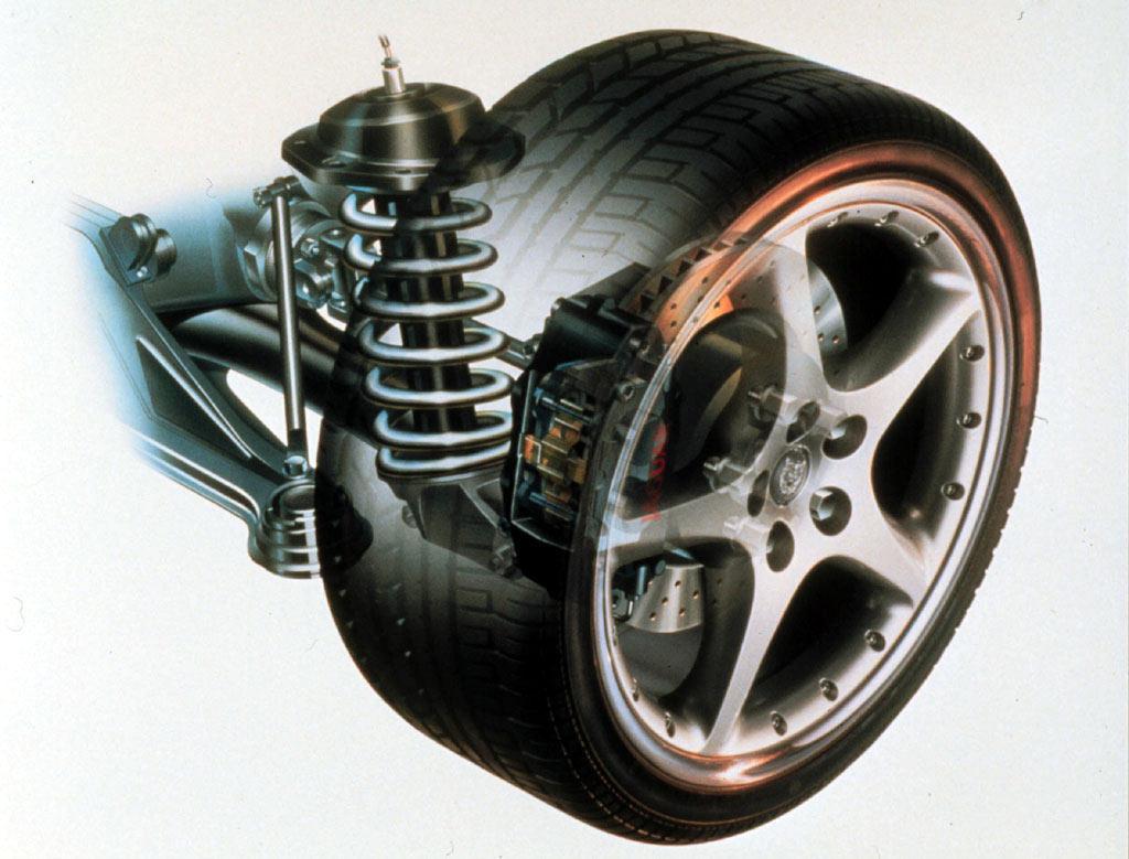 amortiguador rueda