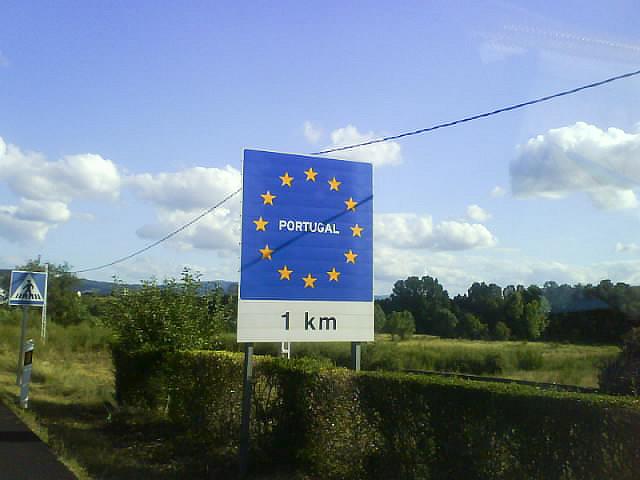 frontera portugal
