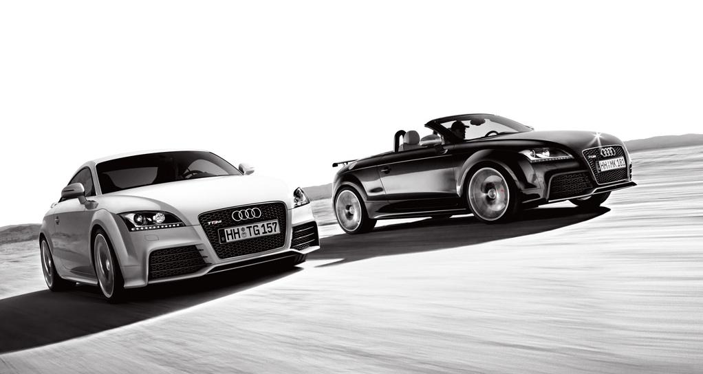 Audi TT RS Coupe Audi TT RS Cabrio
