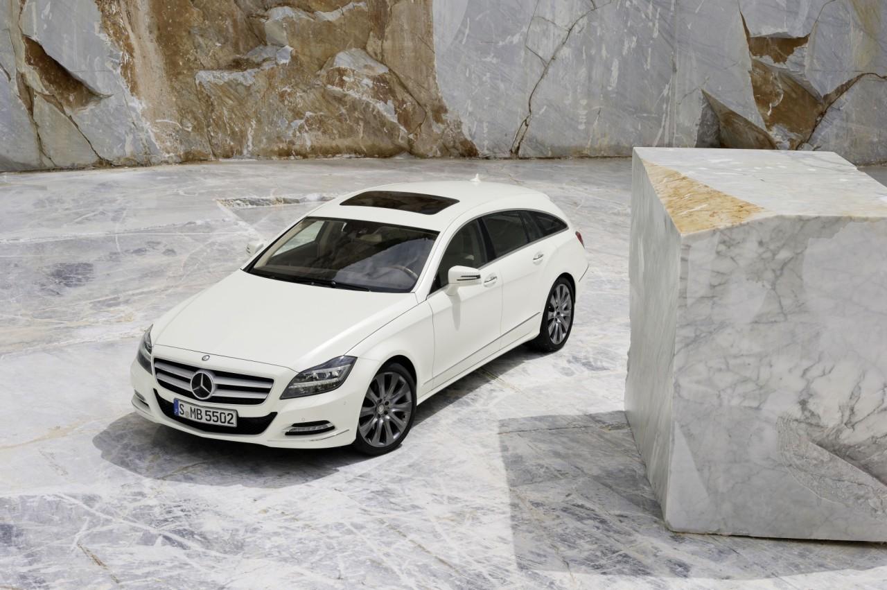 Mercedes CLS Shooting Brake 1