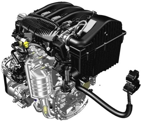 Motor tricilíndrico