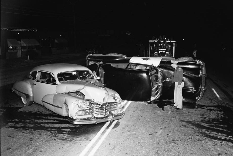 accidente coche usa