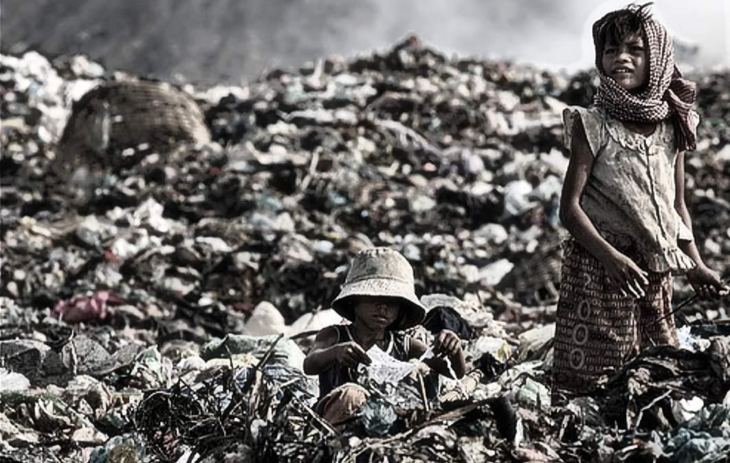 basura india