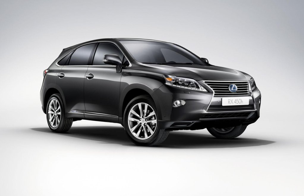 versi n 2012 del lexus rx 450h hybrid y 450h f sport. Black Bedroom Furniture Sets. Home Design Ideas