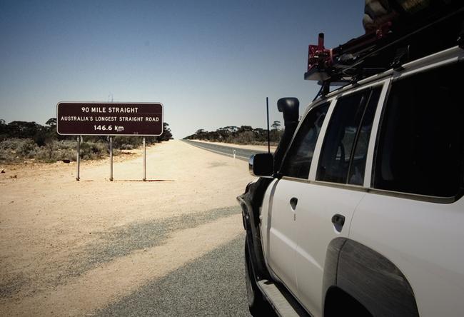 Los récords de las carreteras 90-Mile-Straightç-650x444