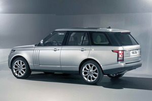 Se observa a la legua que estamos ante un Range Rover...