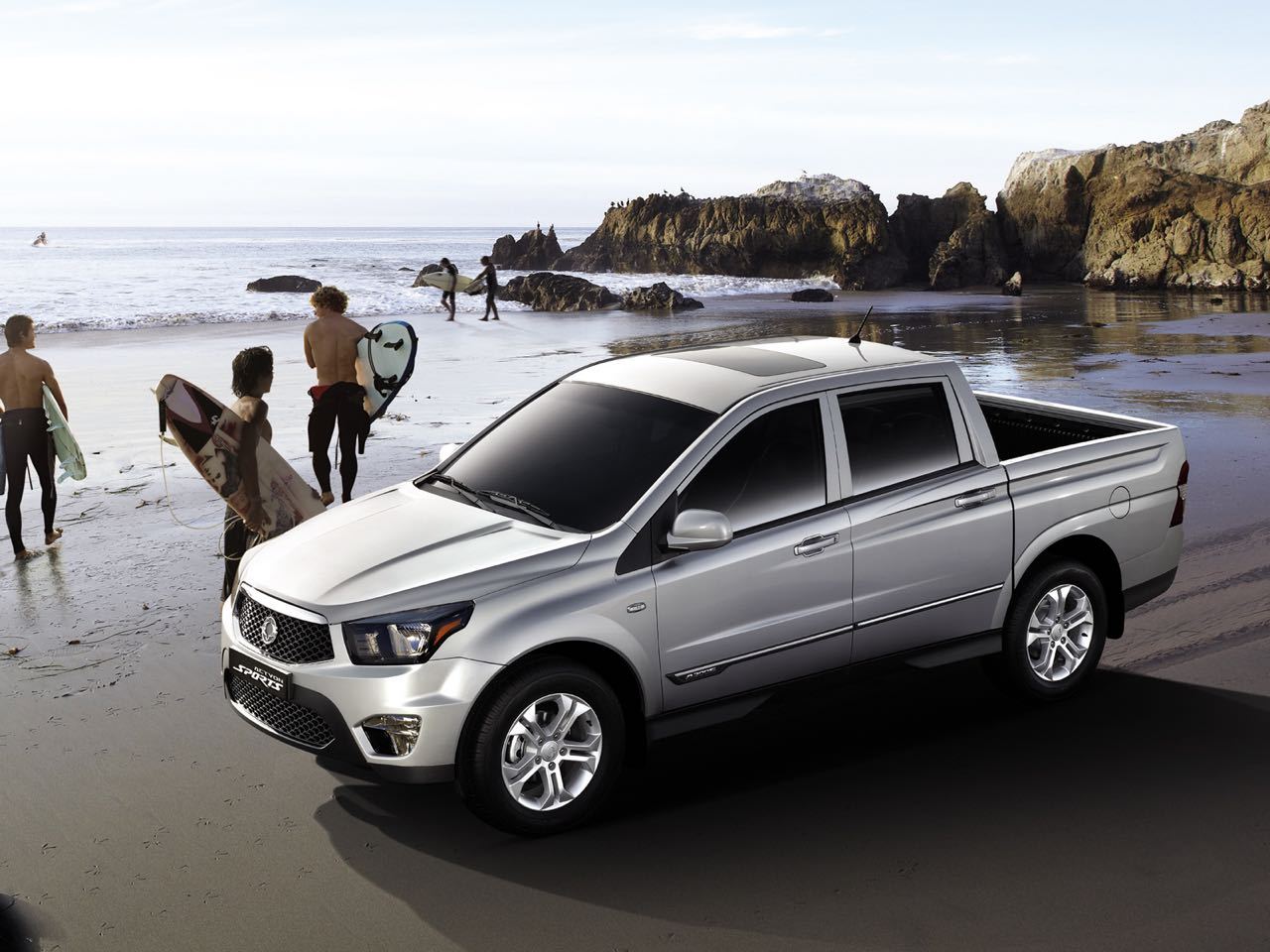 SsangYong Actyon Sports 2012 – 2