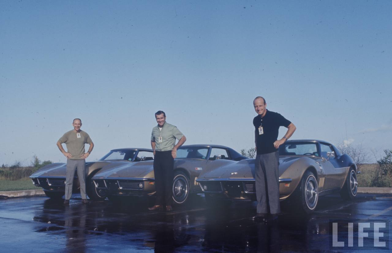 Los Corvette De Los Astronautas