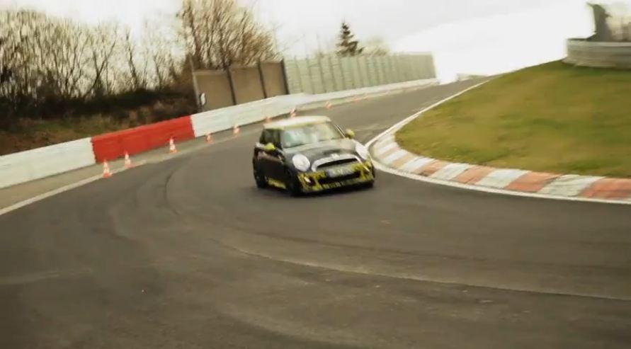 mini jcw gp nurburgring