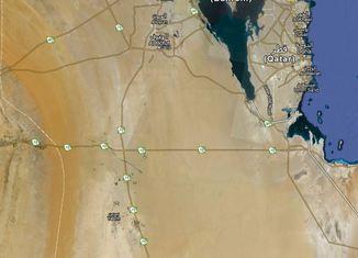 Los récords de las carreteras Recta-saudi-arabia-650x409