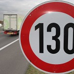 límite de velocidad 130 km/h