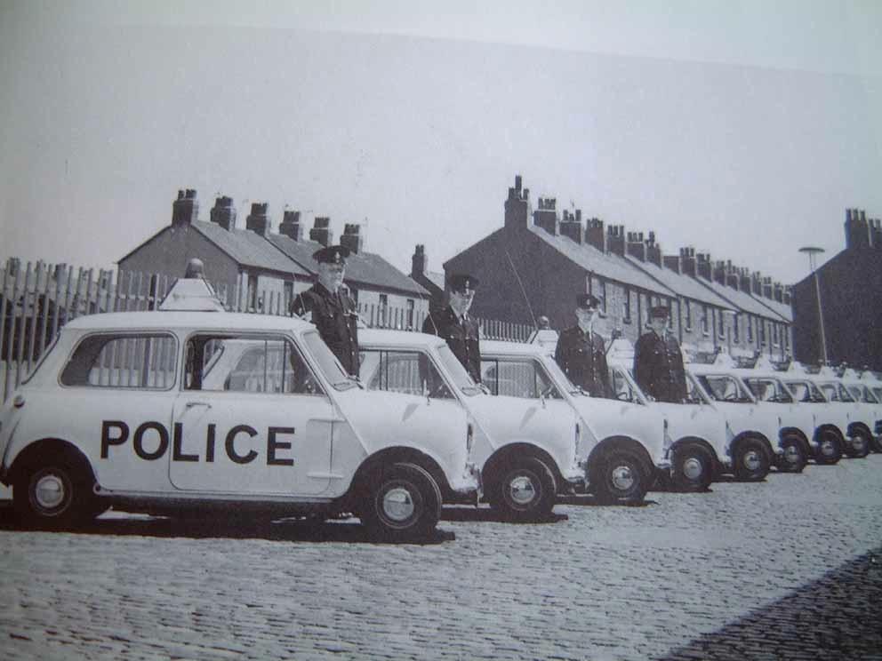 1968 Morris Mini Police Cooper S 7