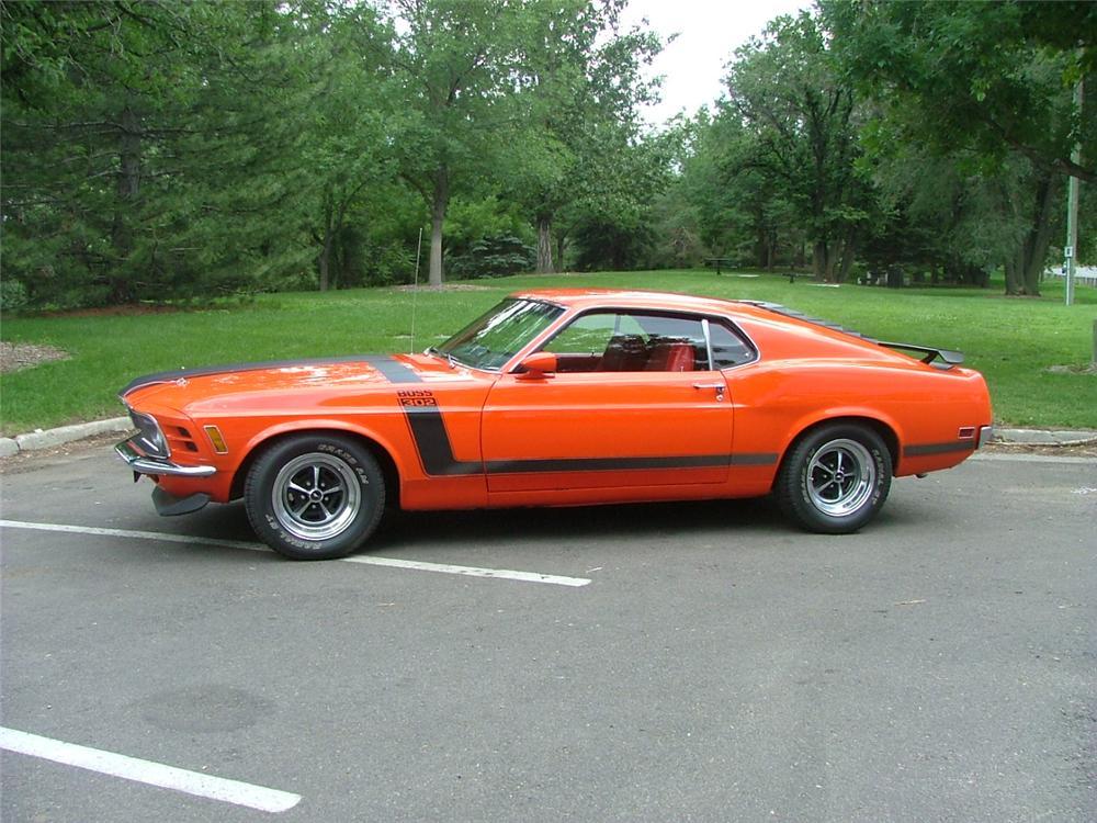 1970 MUSTANG BOSS 302 5