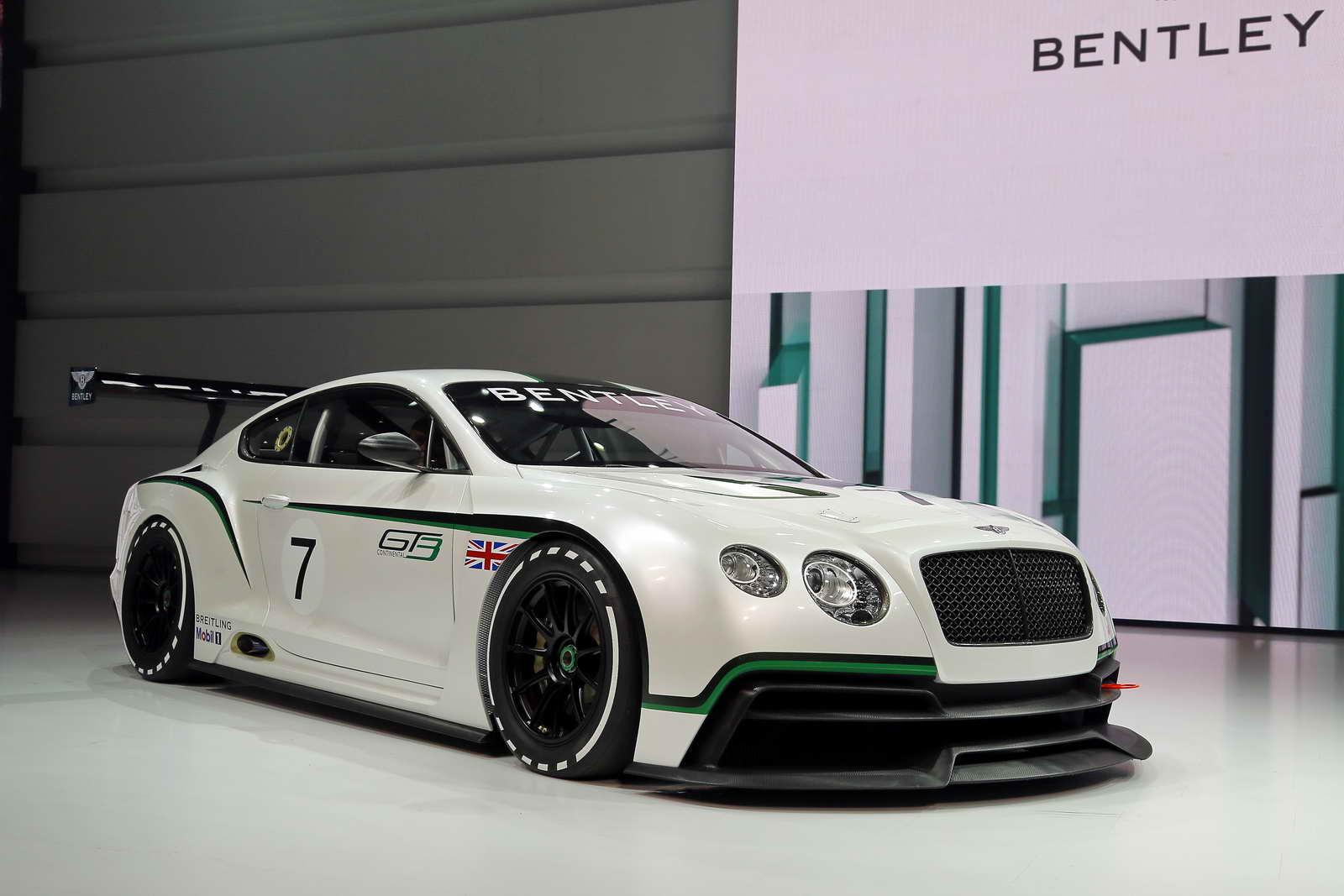 Bentley Regresa A La Competici 243 N Con El Continental Gt3