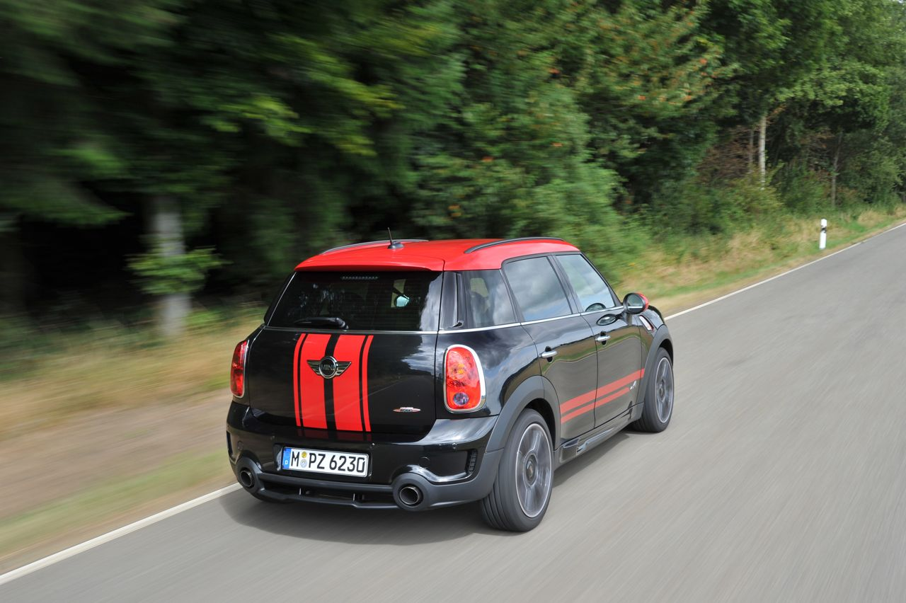 mini john cooper works countryman desde euros. Black Bedroom Furniture Sets. Home Design Ideas