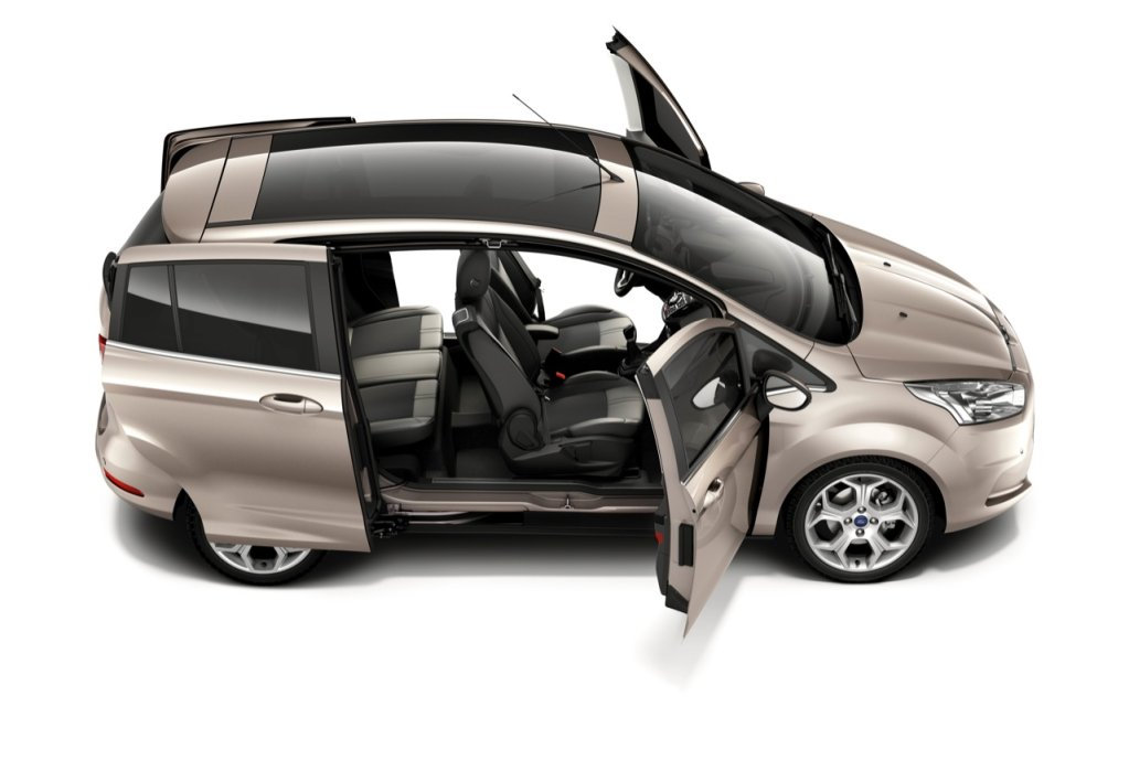 Ford b max en octubre desde euros - Coches con puertas correderas ...