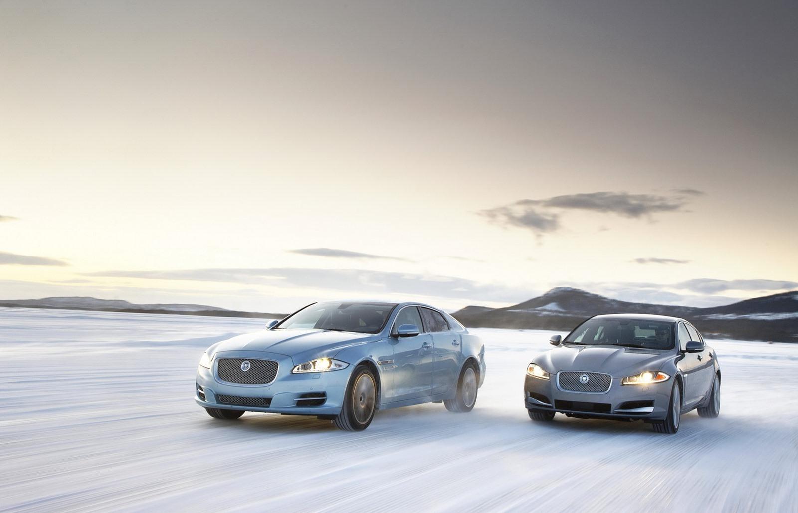 Jaguar XJ and XF AWD