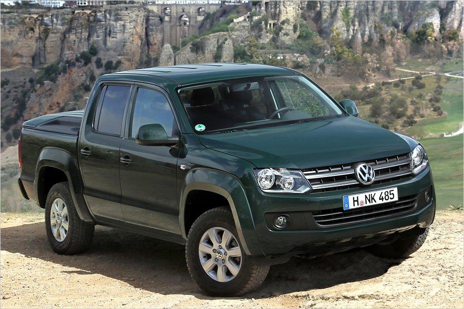 La marca alemana lanza el Volkswagen Amarok 2012, un pick-up más