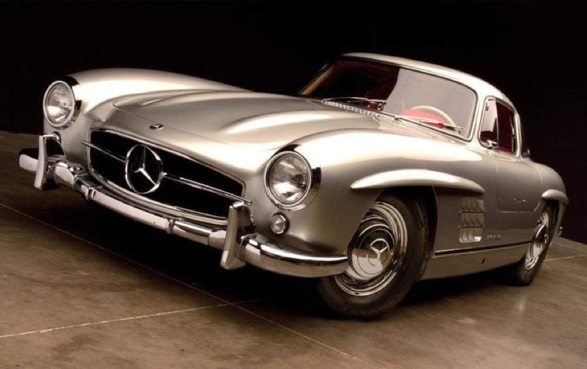 Mercedes 300SL Gullwing de Clark Gable