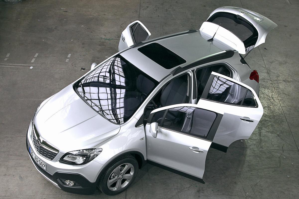 Opel Mokka equipamiento