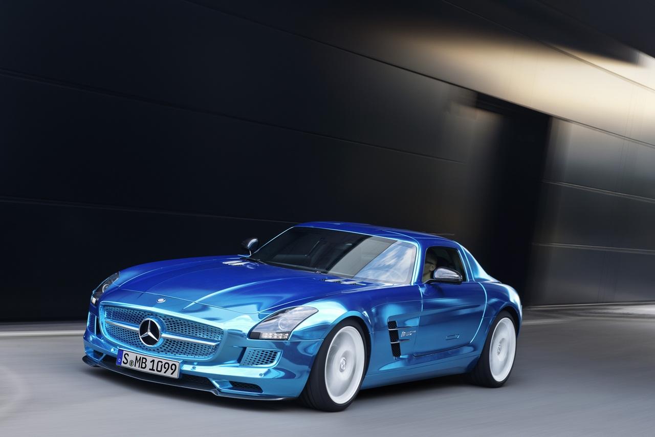 Mercedes sls amg electric drive el el ctrico m s potente for Fastest mercedes benz amg