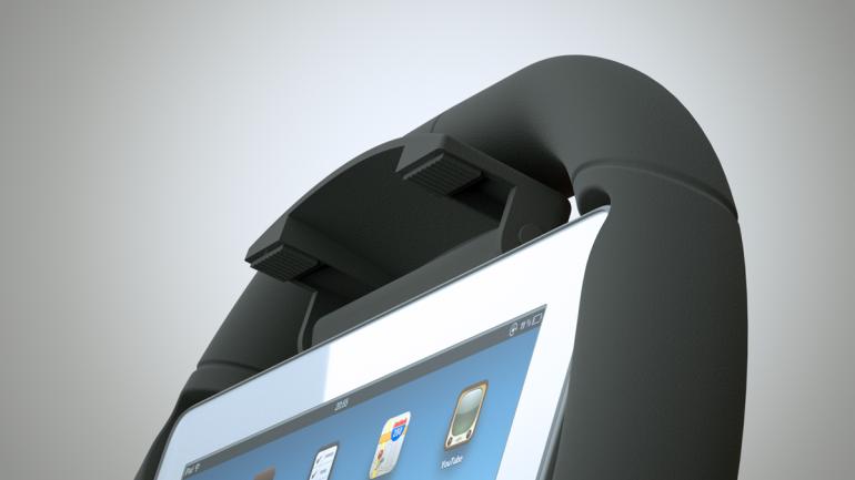 Convierte un iPad en volante de juegos Kolos-ipad-racing-wheel-3