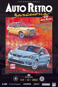 Cartel del salón, realizado por el artista argentino Juan Carlos Ferrigno