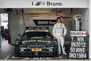 Bruno Spengler, campeón del DTM 2012