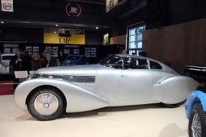 Imponente la presencia del Hispano-Suiza Type H6 C, perteneciente a la la colección del Mullen Automotive Museum