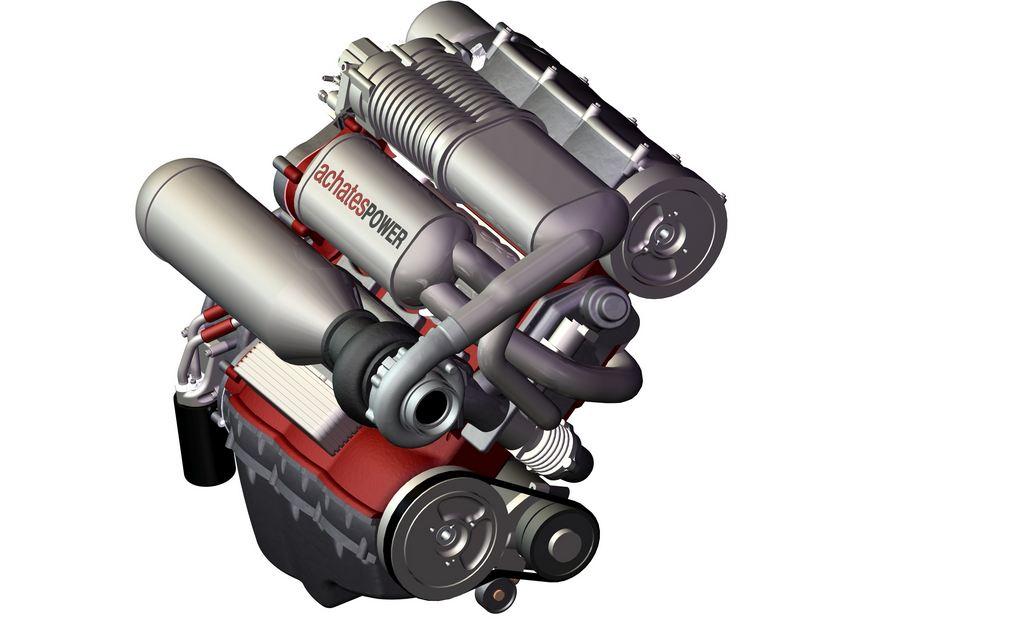 Achates motor