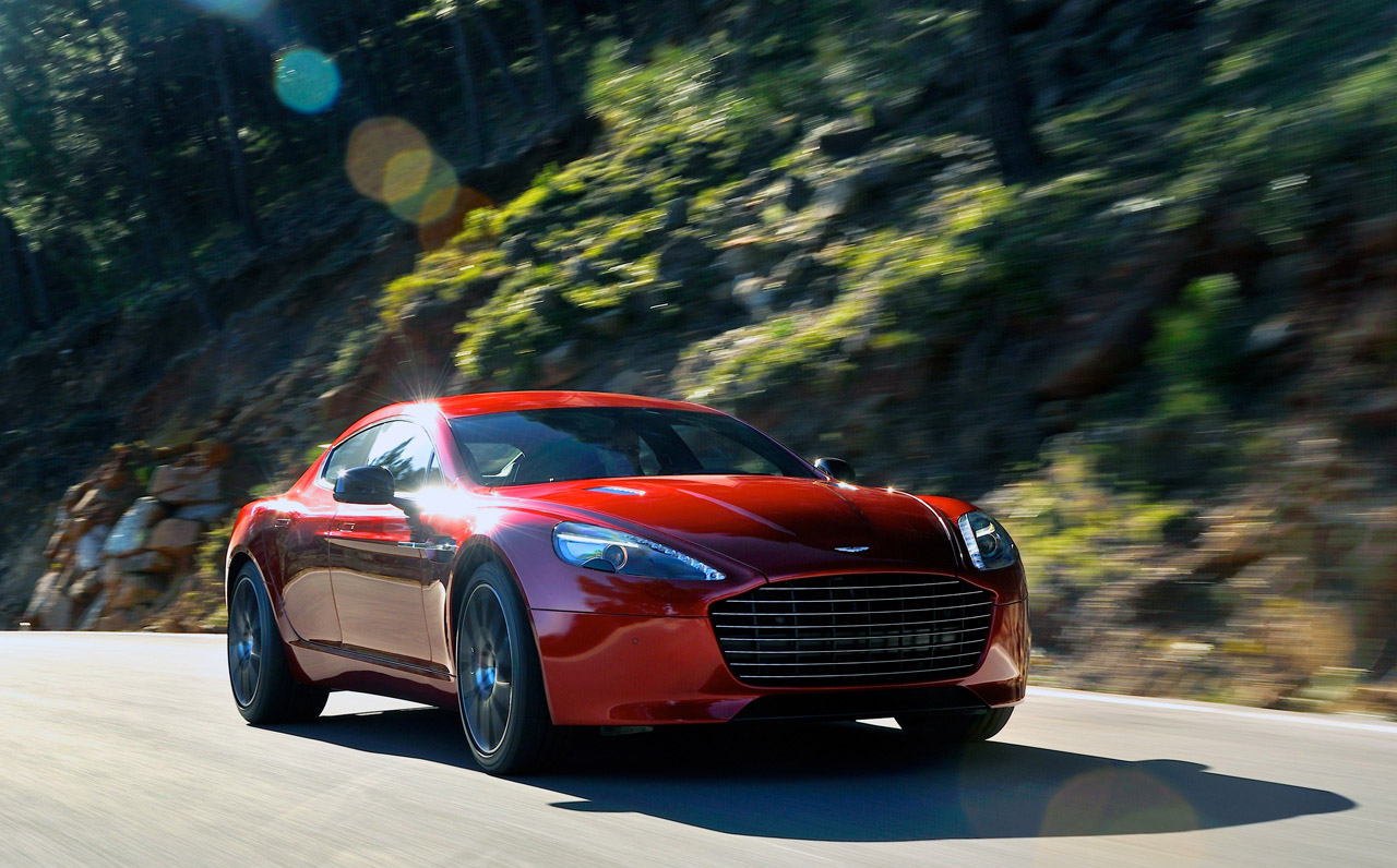 Aston Martin Rapide S 12