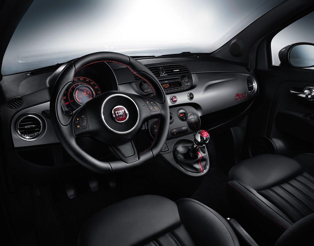 Nuevo fiat 500s deportividad para el peque o italiano for Fiat 500 interieur