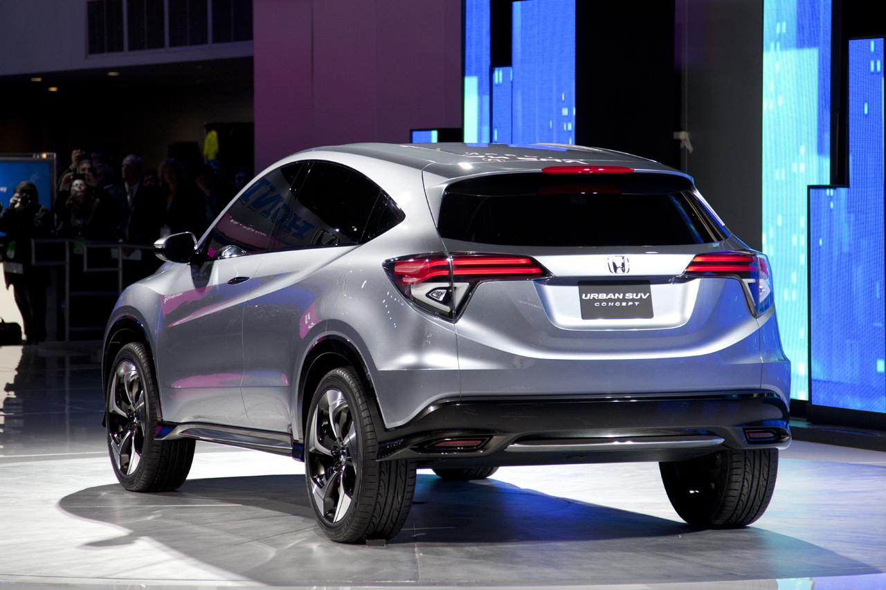 Honda SUV Concept Detroit 2013 2 650x433 Honda Urban SUV Concept, el