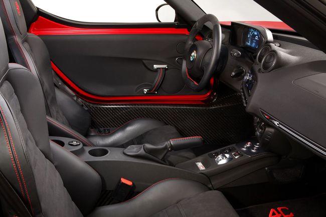 Alfa Romeo 4C interior 2