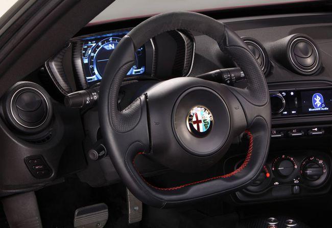 Alfa Romeo 4C interior 3