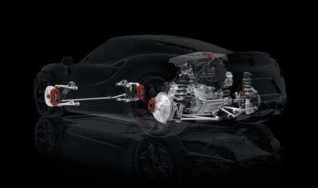 Alfa Romeo 4C tecnica 4