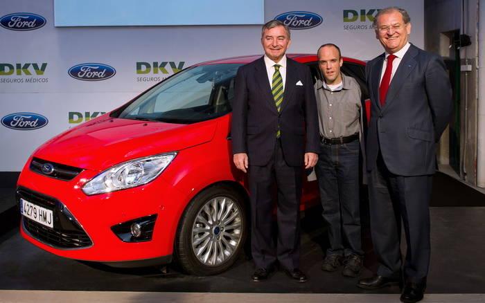 Ford C-Max adaptado David Rivas
