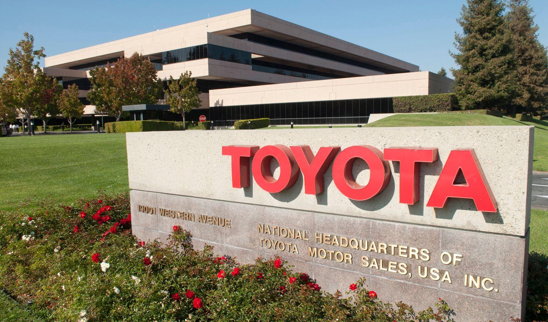 Toyota oficinas