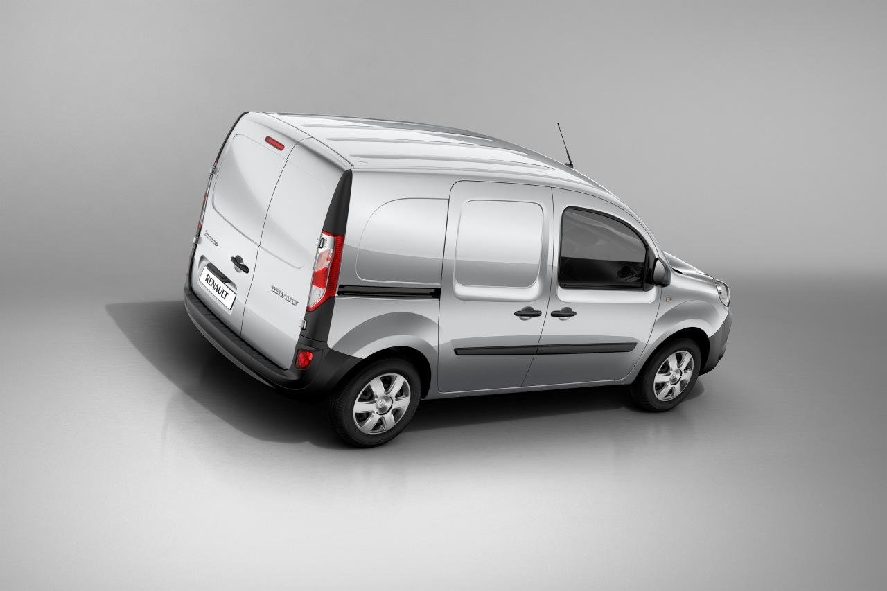 nueva renault kangoo van 2013 m s plazas y nuevo dise o. Black Bedroom Furniture Sets. Home Design Ideas