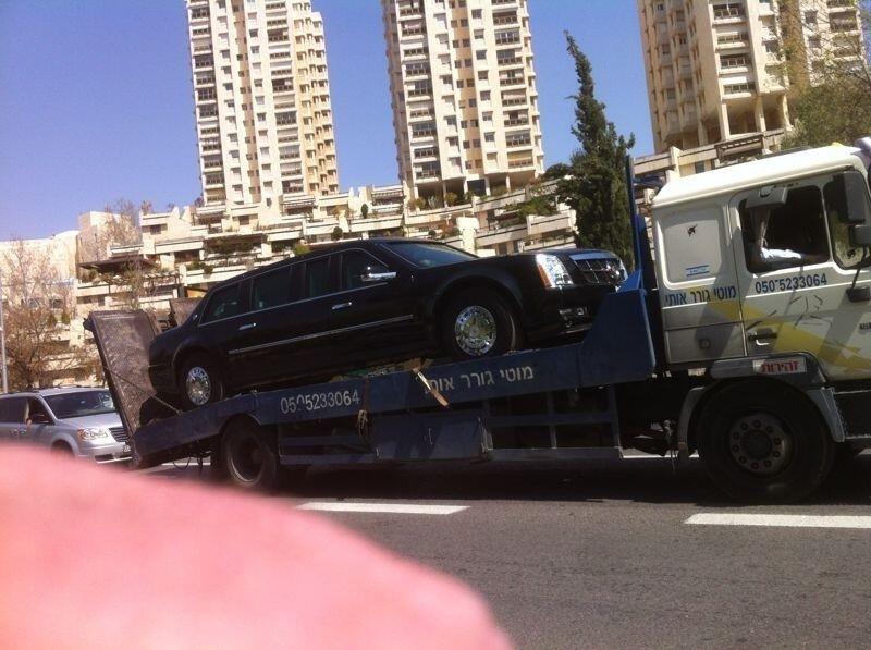 Cadillac Obama diesel