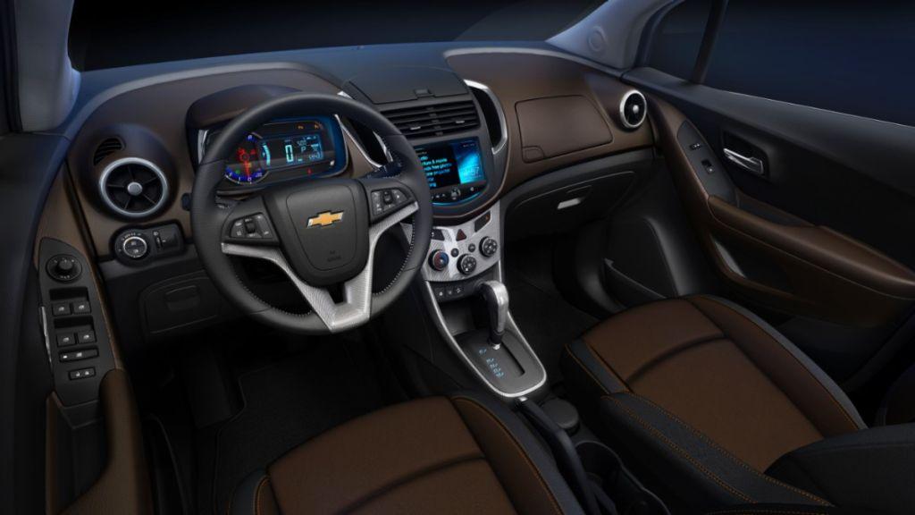 Coches Chevrolet Trax Chevrolet Trax 2013 Interior 4