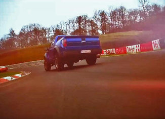 Ford F150 pick up Nurburgring