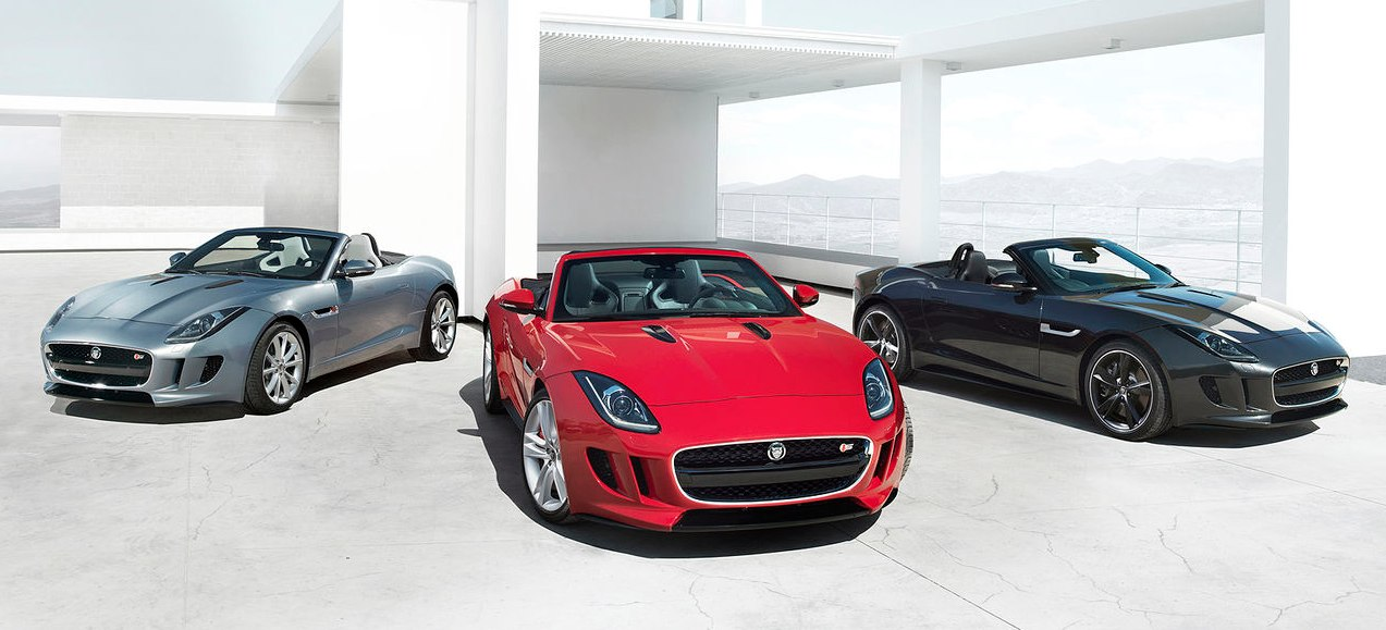 Jaguar F Type gama