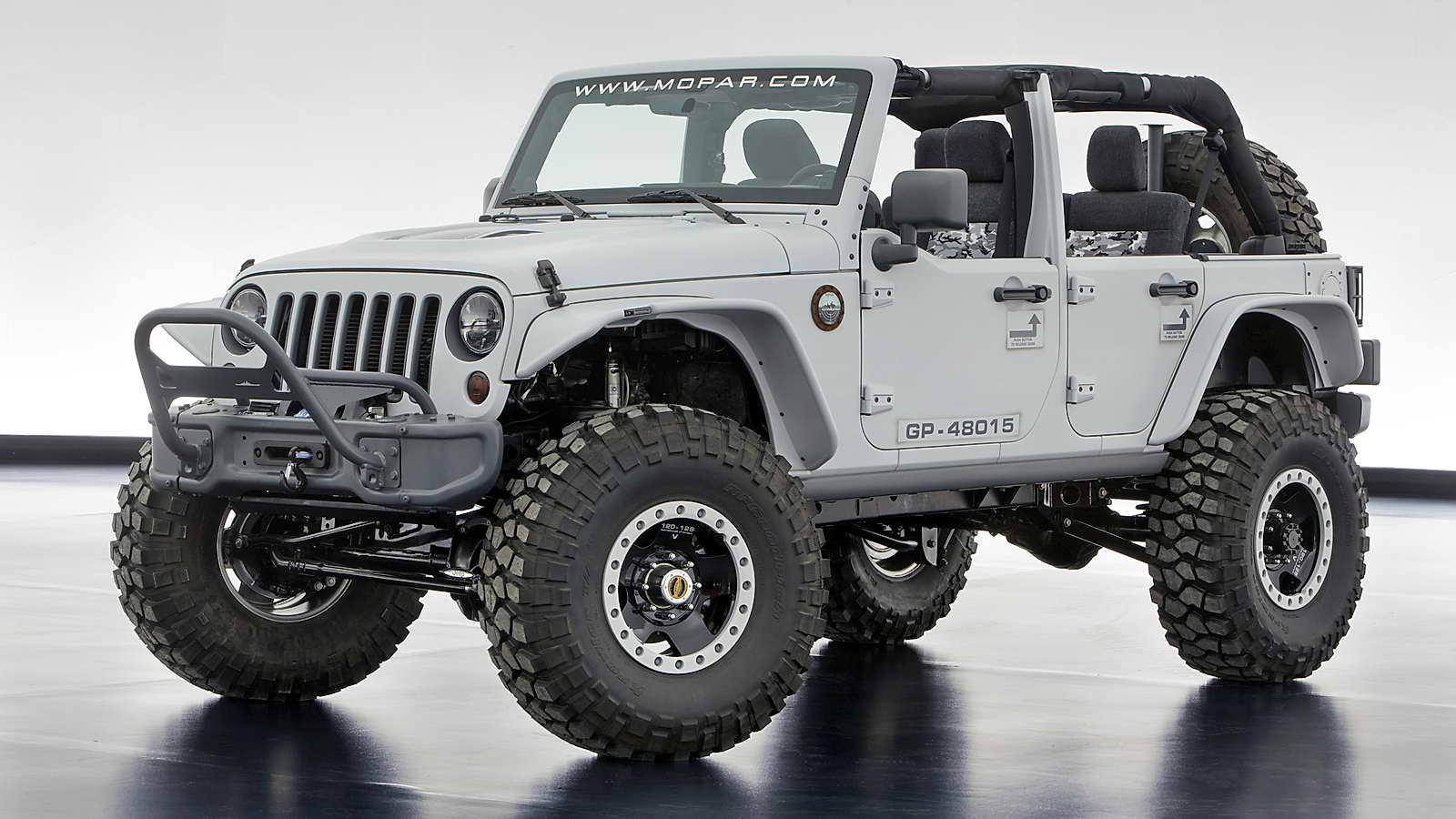 Mopar jeep emergency kit