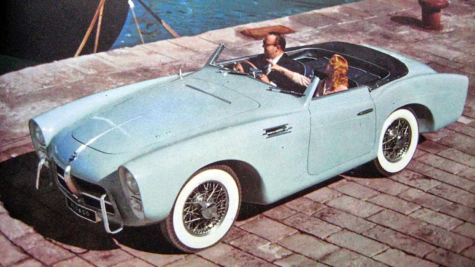 A Subasta El Pegaso Z 102 Series Ii Cabriolet Saoutchik De 1954